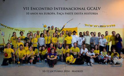 10 ans GCALV Madrid 2014 10 anos capoeira angola